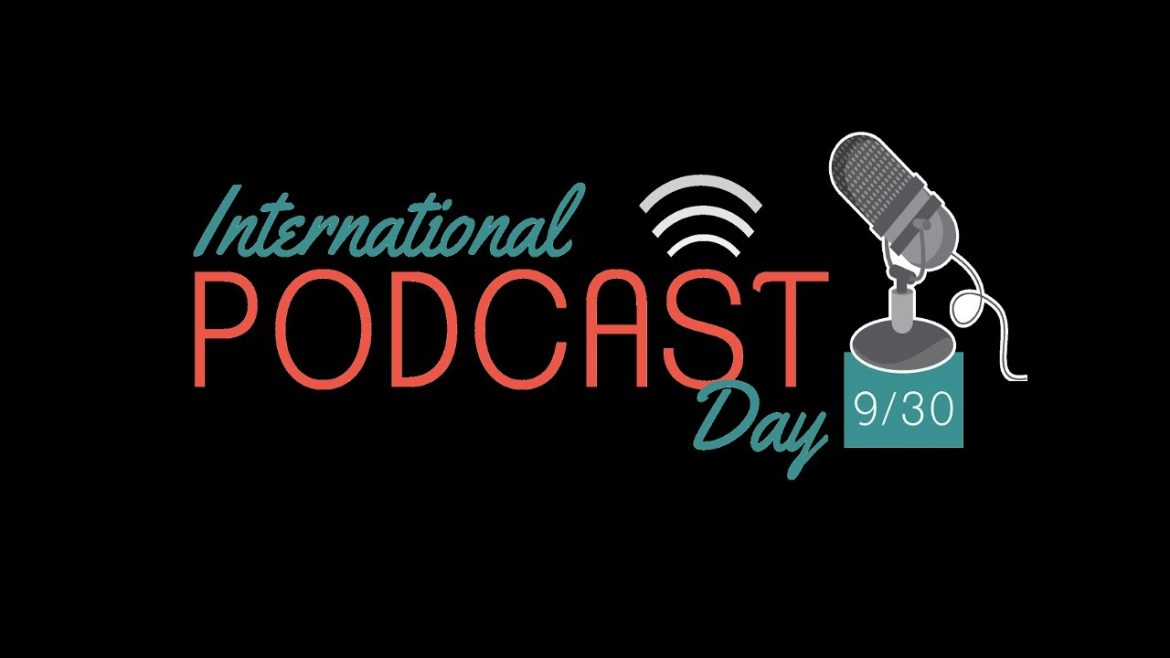 Logo International Podcast Day.