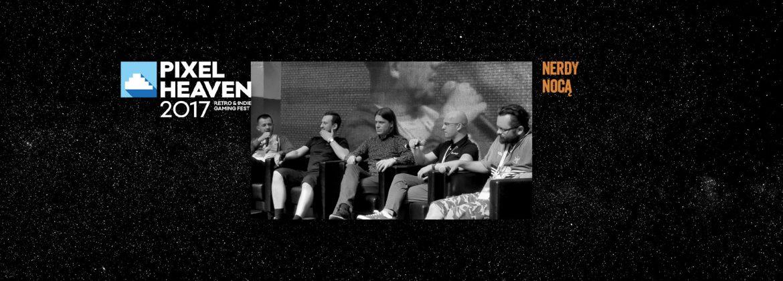 Pięciu chłopa na scenie.