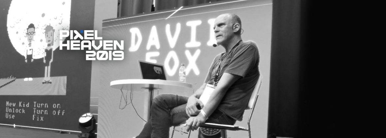 David Fox onstage.