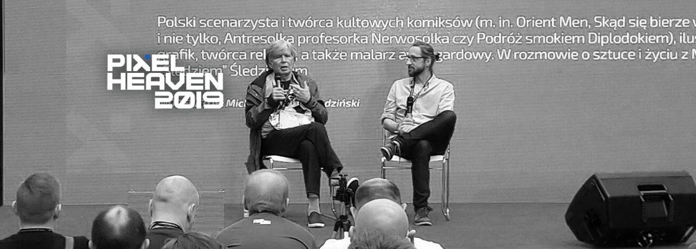 Baranowski i Śledziński na scenie.